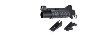 DBOYS BIM-203 SHORT 3-IN-1 M203 AIRSOFT GRENADE LAUNCHER (COLOR: BLACK)