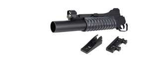 DBOYS BIM-203L LONG 3-IN-1 M203 AIRSOFT GRENADE LAUNCHER (COLOR: BLACK)