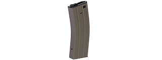 CA-04T HIGH CAPACITY FLASH MAGAZINE FOR M4 SERIES AEG (DARK EARTH)