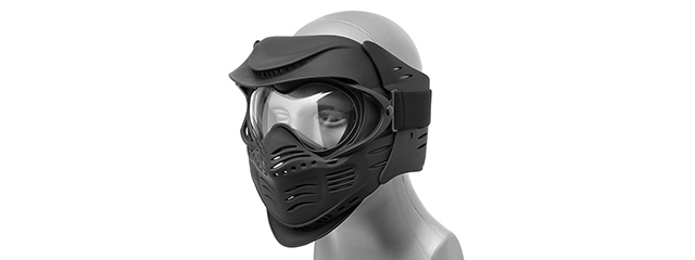 CA-210B Lancer Tactical Airsoft Safety Mask with Double Pane Lens