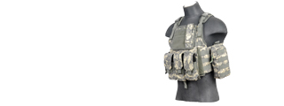 Lancer Tactical CA-305A Tactical Assault Plate Carrier Vest in ACU