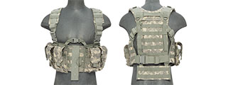 CA-306AN NYLON M4 CHEST HARNESS, ACU