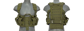 CA-306GN NYLON M4 CHEST HARNESS (OD)