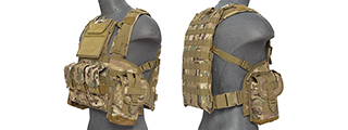 CA-307CN NYLON MODULAR CHEST RIG (CAMO)