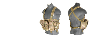 CA-308CN NYLON AK CHEST RIG (CAMO)