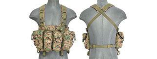 CA-308D AK CHEST RIG DIGITAL (WOODLAND)