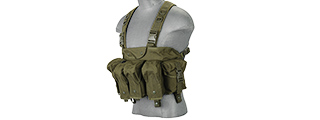 LANCER TACTICAL CA-308G AK CHEST RIG (OD GREEN)
