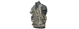 Lancer Tactical CA-310A Cross Draw Vest in ACU