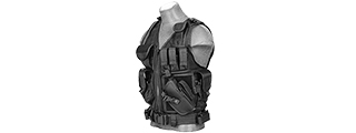 Lancer Tactical CA-310B Cross Draw Vest in Black