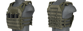 Lancer Tactical CA-312F JPC Jumpable Plate Carrier in Foliage Green