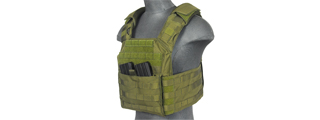 CA-313G2 SAPC w/DUAL INNER MAG POUCH + SHOULDER PADS (OD GREEN)
