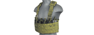 CA-316G DZN MAG HARNESS w/REAR HYDRATION COMPARTMENT (OD GREEN)