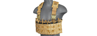 CA-316T DZN MAG HARNESS w/REAR HYDRATION COMPARTMENT (TAN)