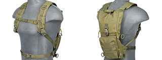 Lancer Tactical CA-321G Light Weight Hydration Pack in OD