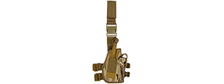 Lancer Tactical CA-323C 92F Drop Leg Holster in Camo
