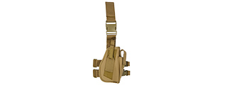 Lancer Tactical CA-323T 92F Drop Leg Holster in Tan