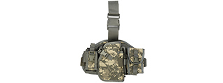 Lancer Tactical CA-324A Molle Platform Drop Leg Holster in ACU