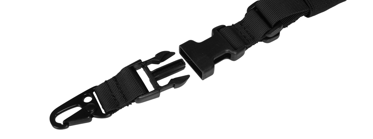 Lancer Tactical CA-326B QD Single Point Sling in Black