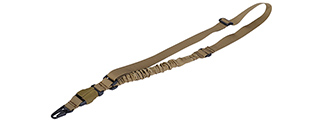 Lancer Tactical CA-326T QD Single Point Sling in Tan