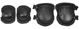 CA-329B LANCER TACTICAL ELBOW & KNEE PAD - BLACK