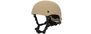 Lancer Tactical CA-332T MICH 2001 Helmet in Tan