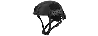 CA-334B ACH BASE JUMP HELMET (COLOR: BLACK) (LRG/XL)