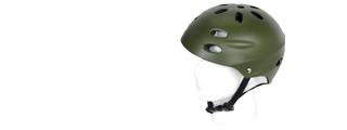 Lancer Tactical CA-335G Air Force Recon Helmet in OD