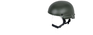 Lancer Tactical CA-336G MICH 2002 Helmet in OD