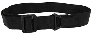 Lancer Tactical CA-337LB Riggers Belt in Black - Size L