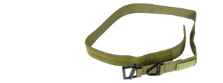 Lancer Tactical CA-337LG Riggers Belt in OD Green - Size L