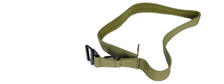 Lancer Tactical CA-337MG Riggers Belt in OD Green - Size M