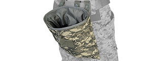 Lancer Tactical CA-341A Large Foldable Dump Pouch in ACU