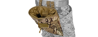 Lancer Tactical CA-341C Large Foldable Dump Pouch in Camo