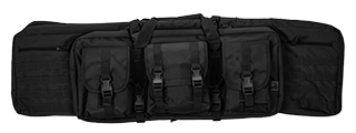 "CA-343B2 MOLLE 42"" DOUBLE GUN BAG (COLOR: BLACK)"
