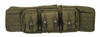 "CA-343G2 MOLLE 42"" DOUBLE GUN BAG (COLOR: OD GREEN)"