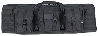 "CA-345B MOLLE 36"" DOUBLE GUN BAG (COLOR: BLACK)"