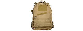 CA-352TN NYLON 3-DAY ASSAULT PACK (TAN)