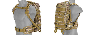 Lancer Tactical CA-353C FAST Pack EDC, Camo