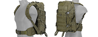 Lancer Tactical CA-353G FAST Pack EDC, OD Green