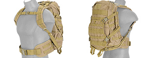 Lancer Tactical CA-353T FAST Pack EDC, Tan