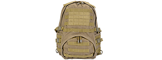Lancer Tactical CA-354T Patrol Backpack, Dark Earth
