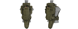 Lancer Tactical CA-356G Rifle Backpack, OD Green