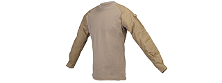 CA-363MD COMBAT SHIRT (COLOR: TAN) SIZE: MEDIUM