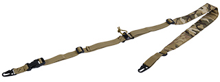 CA-367C 2 POINT PADDED RIFLE SLING (CAMO)