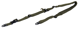 CA-367GN 2-POINT PADDED RIFLE SLING (OD)