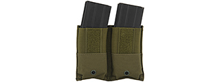 CA-374G DUAL INNER MAG POUCH FOR CA-313B (OD GREEN)