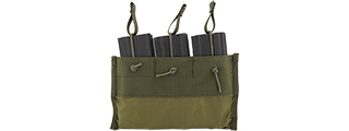 CA-376G TRIPLE INNER MAGAZINE POUCH FOR CA-311G (OD GREEN)