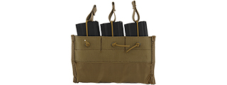 CA-376T TRIPLE INNER MAGAZINE POUCH FOR CA-311C/CA-311T (TAN)