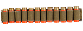 CA-383C SHOTGUN SHELLS (12) HOLDER FOR SLING OR BELT (CAMO)