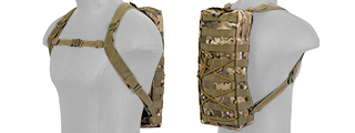 CA-384C MOLLE ATTACHABLE HYDRATION BACKPACK (CAMO)